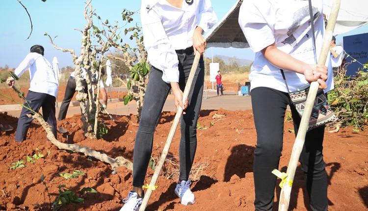 """Tết trồng cây 2018 tại Thành Phố Cà Phê """"The Coffee City"""""""